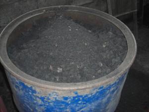 (3) Carbonated corncobs
