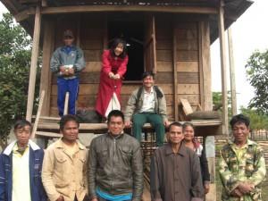 Rice Bank in Laos