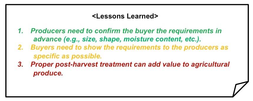 HarvestTreadment_lessonsLearned